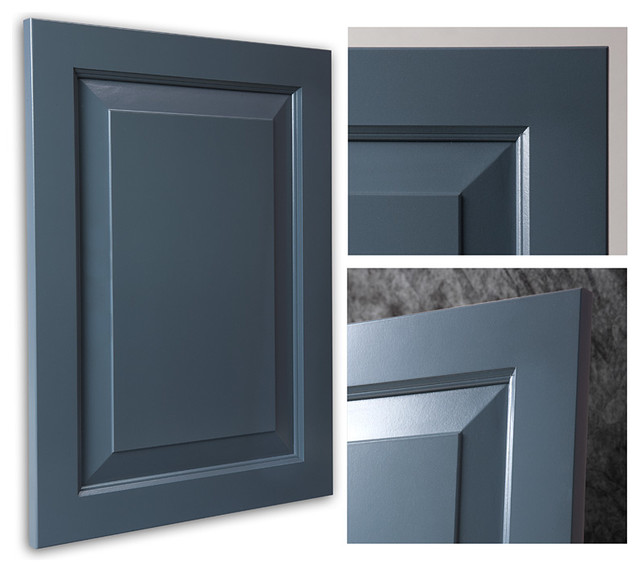 Chesapeake Smokey Blue Showplace Cabinets - Traditional - Kitchen Cabinetry - other metro - by ...