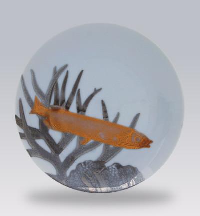 Aquarium Canape Plates contemporary-serveware