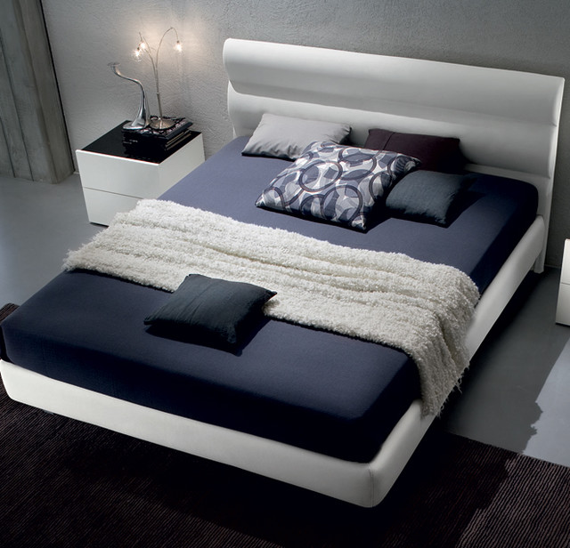 Nuvola Upholstered Modern Bed by Europeo modern-beds
