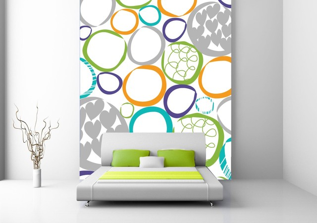 Olympic Fever - Spring contemporary-wallpaper
