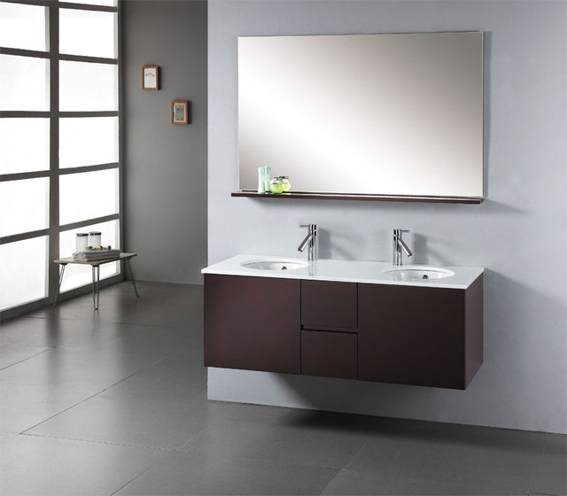 Matteo Modern Vanity By Virtu USA Modern Bathroom Vanities And Sink