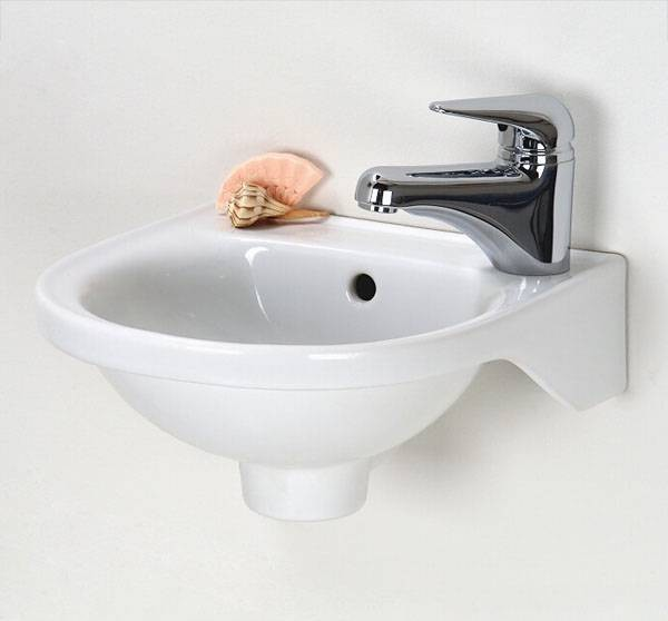 Barclay Rosanna Wall Mount Bathroom Sink - Contemporary - Bathroom ...