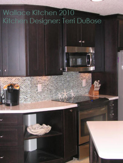 Kitchen Remodel by Terri DuBose, Woodsman Kitchens and Floors eclectic-kitchen
