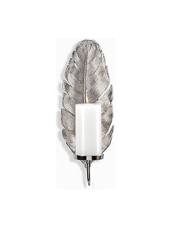 Feather Wall Sconce -
