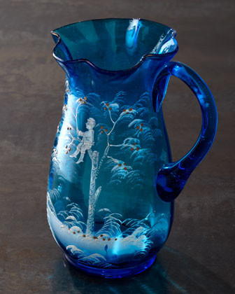 Blue Pitcher, c. 1880 traditional barware