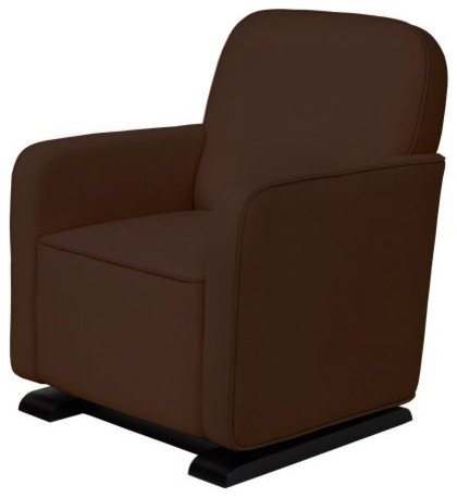 Babyletto Kyoto Glider in Mocha contemporary rocking chairs
