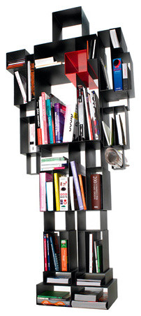 Eclectic Bookcases by OWO
