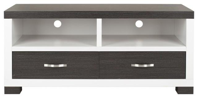 Monroe 2 Drawer Tv Cabinet - Dark Grey/ Charcoal ...