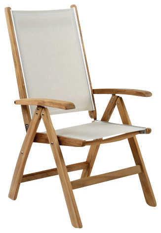 St. Tropez Adjustable Chair - By Kingsley Bate modern-outdoor-chairs