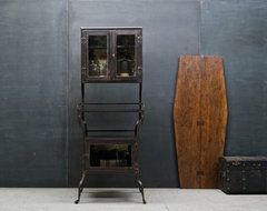 Rustic Victorian Apothecary Medical Cabinet eclectic-storage-units-and-cabinets
