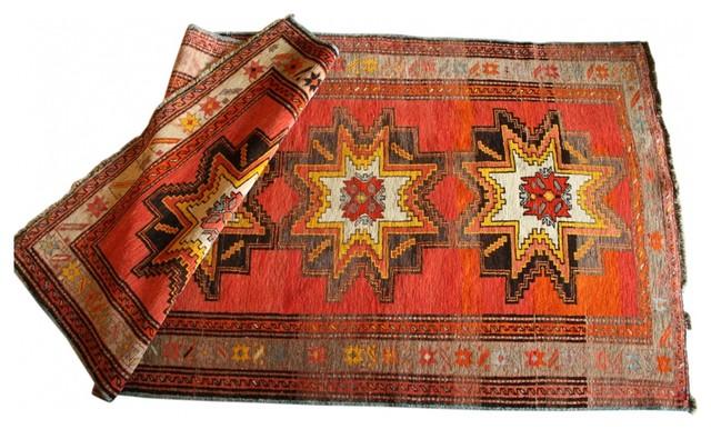 Star Karabagh Rug traditional-rugs