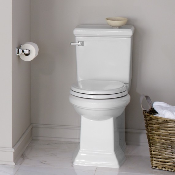 American Standard Toilets : American Standard Town Square Concealed Trapway RH Elongated Toilet ...