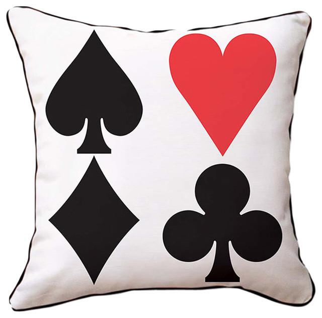 Naked Decor Red Heart Pillow contemporary-decorative-pillows