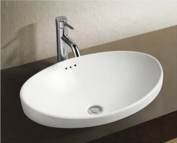 Breno 39 designer ceramic basin above counter basins contemporary bathroom sinks other - Designer bathroom sinks basins ...