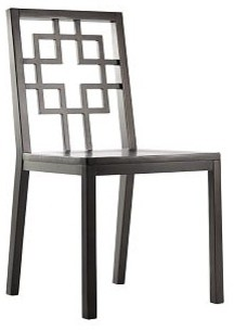 Overlapping Squares Side Chair eclectic-dining-chairs