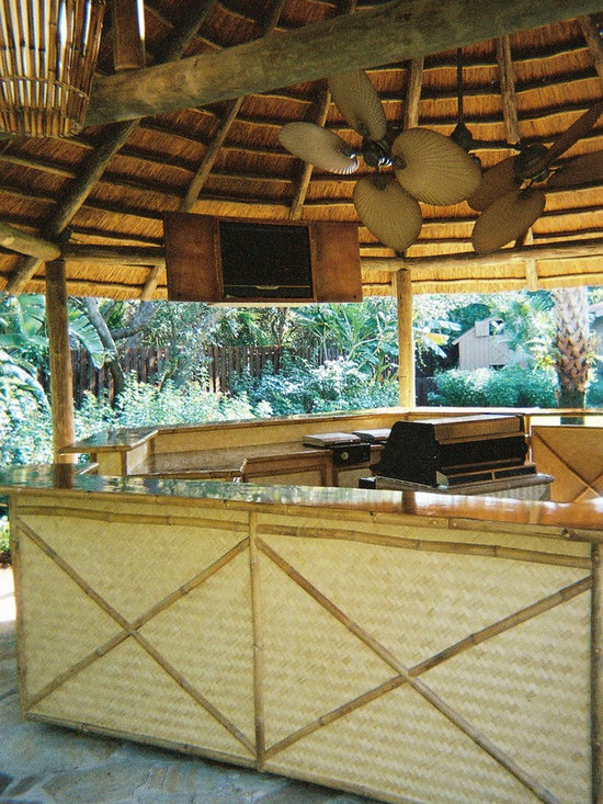 Decorative Boards - Woven bamboo playwood bar