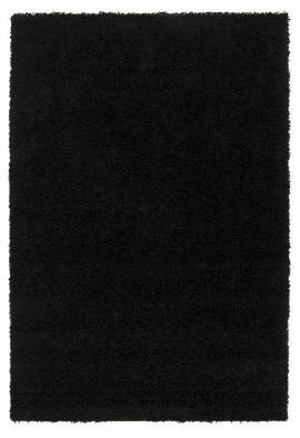 Surya Galaxy Shag GAL-4331 Area Rug - Black modern-rugs