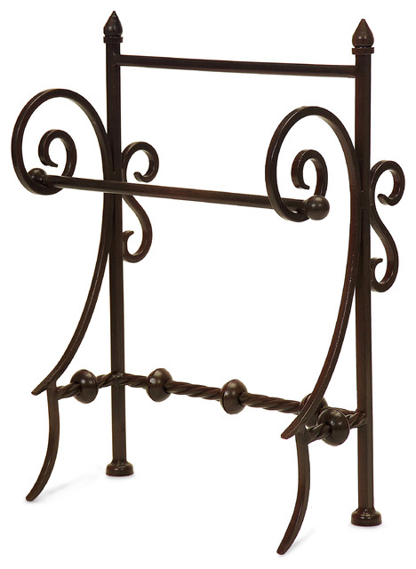 Iron Towel Holder accessories-and-decor