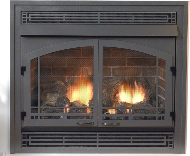 Premium 32 Vent Free Fireplace Vfp32bp30ln Natural Gas Modern Indoor Fireplaces By Shop