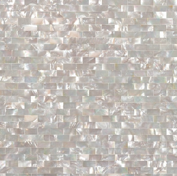 Mother of pearl shell kitchen backsplash tiles MOP033 natural seashell modern-tile