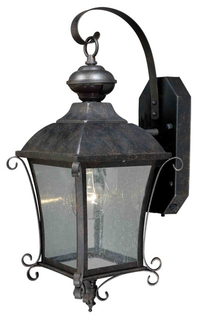 Sonnet Gold Stone Outdoor Wall Sconce traditional-outdoor-wall-lights-and-sconces