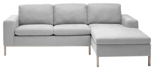 Standard Right Sectional Sofa modern-sectional-sofas