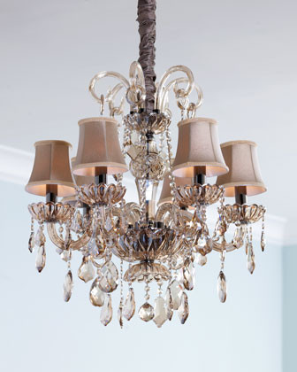 Amber Teak Chandelier traditional chandeliers