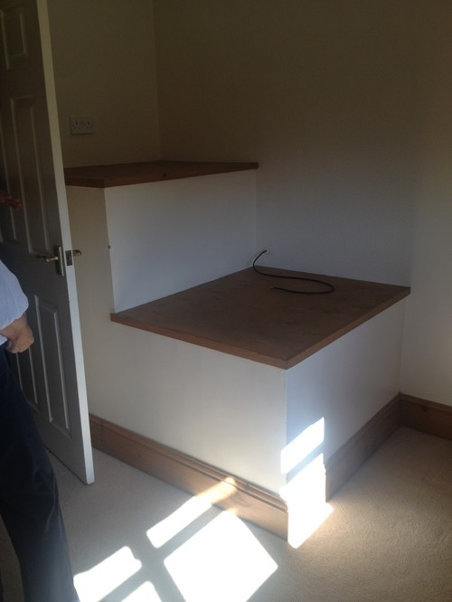 Stair Slope In Bedroom