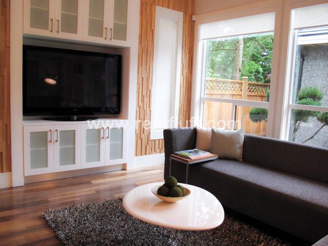 Modern Family Home contemporary-family-room