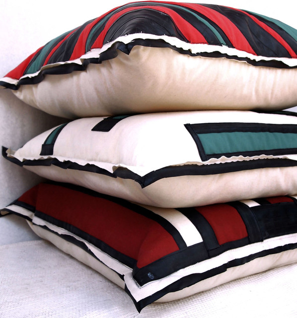 Oversized Floor Pillows - Eclectic - Floor Pillows And Poufs - chicago - by SOLO Home Design