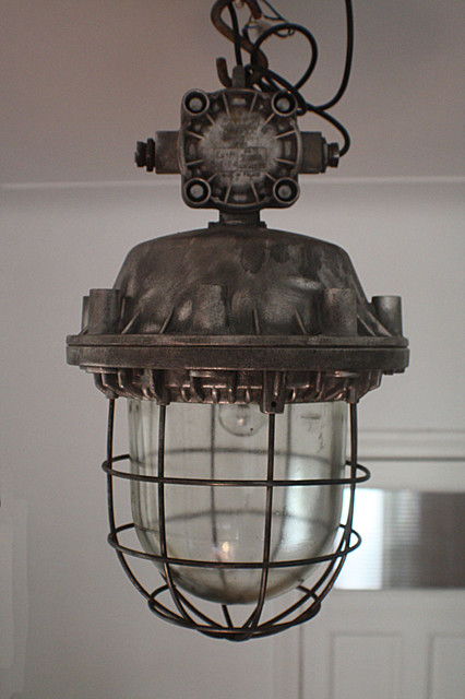 European vintage industrial furniture contemporary pendant lighting