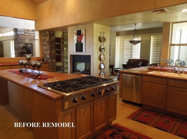 Southwest Kitchen Remodel eclectic kitchen