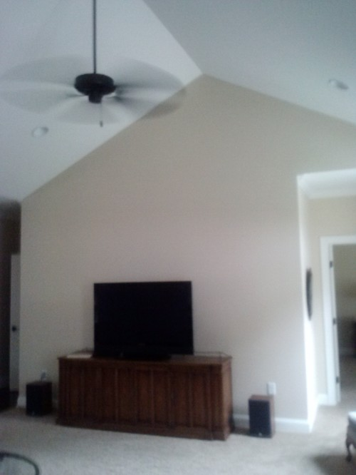 Vaulted Ceiling Living Room Paint Color