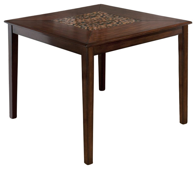 Jofran 697 Series Counter Height Dining Table in Baroque  : transitional dining tables from houzz.com size 640 x 550 jpeg 41kB