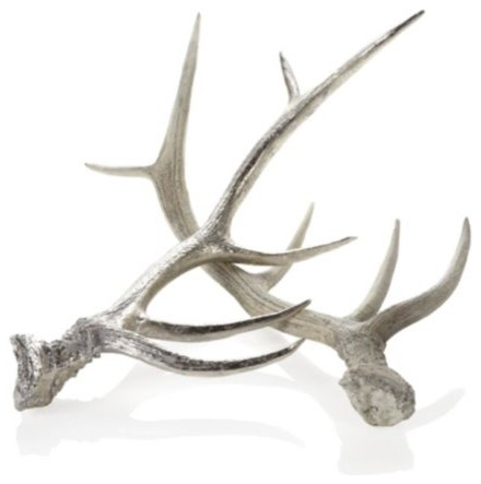 Faux Deer Antlers modern artwork