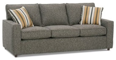 Rowe Monaco Mini Sofa - Grey modern-sofas