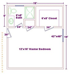 Free 12x16 master bedroom design ideas floor plan with for 12x16 living room layout