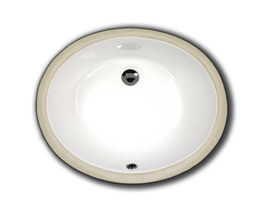 """TCS Home Supplies - Porcelain Ceramic Vanity Undermount Bathroom Vessel Sink - Undermount Bathroom Vessel Sink. Porcelain Ceramic. Available in White, Biscuit, and Black. Overall Dimensions 19-1/2"""" x 15-3/4"""" x 6""""."""