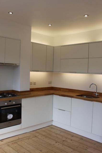 Refurbishment of 1930s semi modern-kitchen