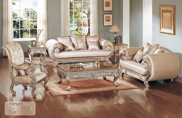 Traditional living room furniture traditional sofas for Traditional living room furniture