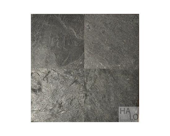 Silver Grey Slate - Silver Grey 12x12 Slate Tile