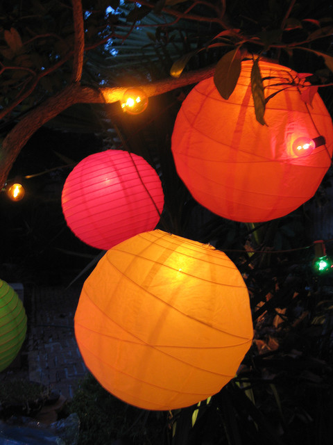 String Lights and Lanterns - Tropical - houston - by PartyLights.com