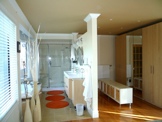 Master Bedroom Design - Eclectic - Bathroom - montreal - by TOC design
