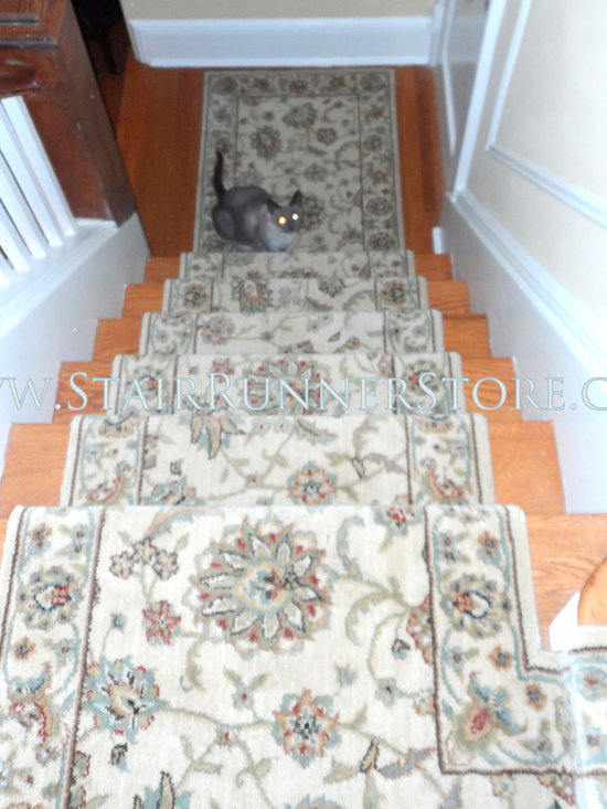 Pets on Stairs -