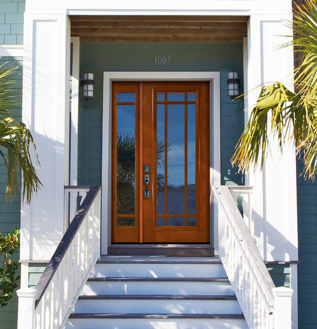 Traditional front doors for All glass front door