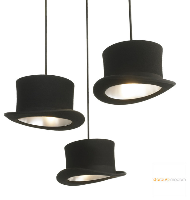 Innermost Wooster Top Hat Pendant Lamp
