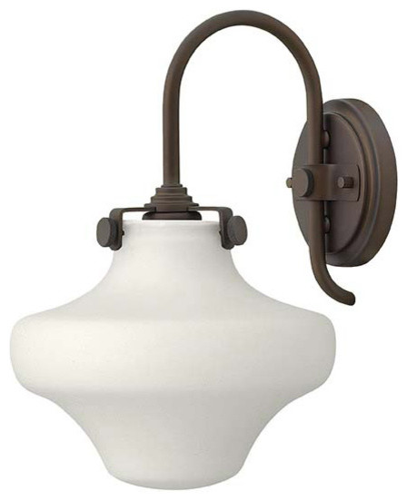 Hinkley Lighting 3175OZ Congress Oil Rubbed Bronze Wall Sconce Farmhouse