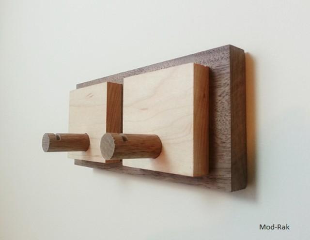 Coat Rack Key Holder Wall Hook by Mod-Rak midcentury