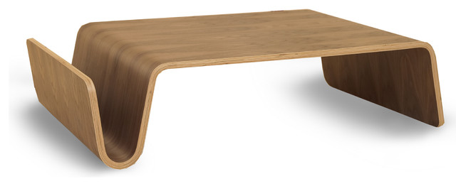 OFFI Scando Table - Walnut modern-coffee-tables