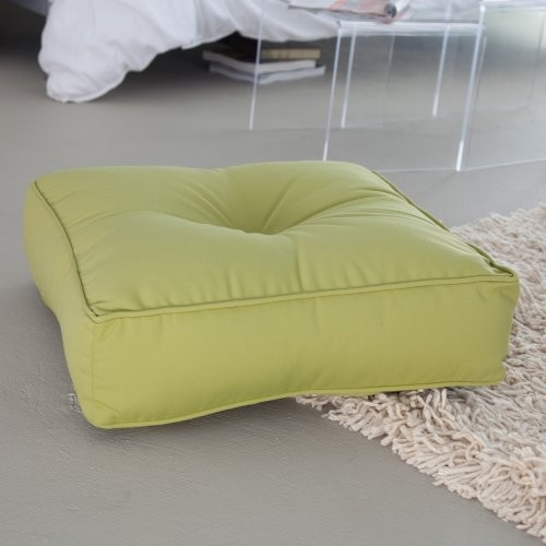 20 in. Outdoor/Indoor Square Floor Pillow - Contemporary - Outdoor Cushions And Pillows - by ...